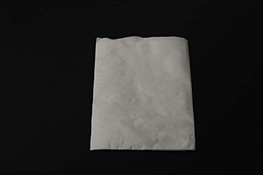 2-Ply White Dinner Napkins White