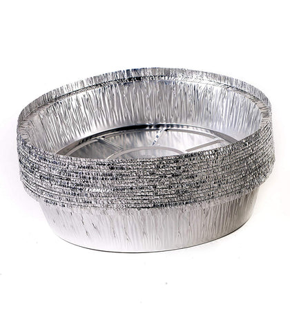 Disposable Round Aluminum Foil Take-Out Pans