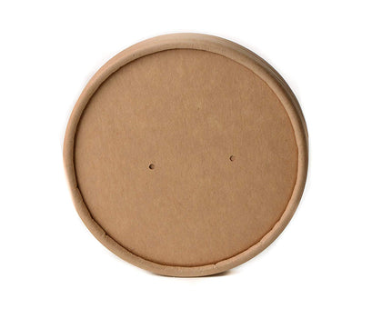96mm Vented Lids for Kraft Paper Soup Containers