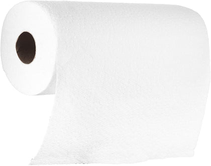 [30 Pack] Paper Towel Rolls, 2 - Ply, Perforated, White Roll, Multi Surface, Cleaning, Kitchen, Bathroom, Office and more