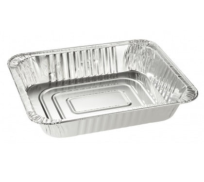 1/2 Size Aluminum Foil Deep Steam Table Pan - 100/Case