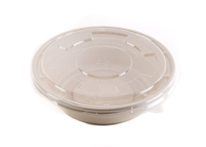 24 oz Compostable Sugarcane Bowl with Lids 300ct