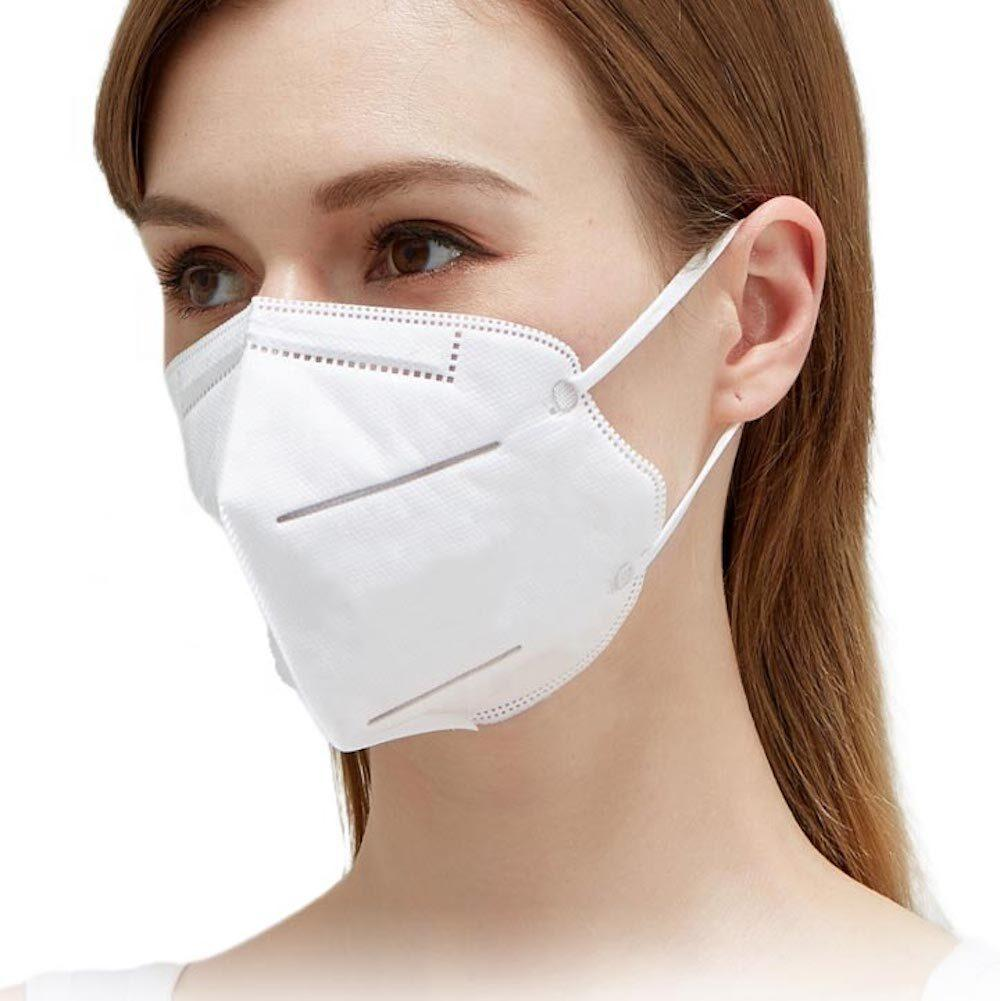 KN95 3D Face Masks with Soft Ear Loops - Non Medical / Non Surgical Masks