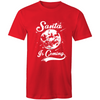 Santa is Coming - Adults Premium T-Shirt