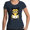 Minion Wolverine - Womens Premium Scoop Neck T-Shirt