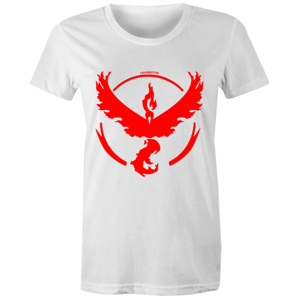 Red Valor - Womens Crew T-Shirt