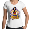 Warrior Princess - Womens Premium Scoop Neck T-Shirt