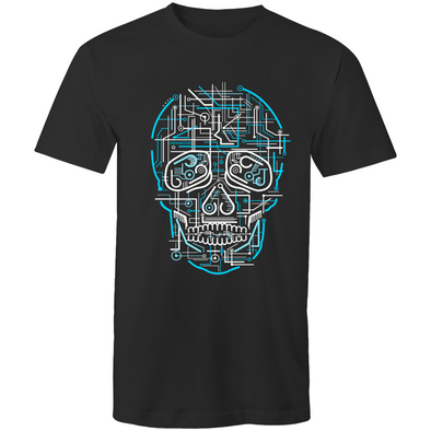 Electric Skull - Adults Premium T-Shirt