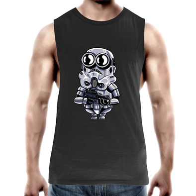 Minion Trooper - Adults Premium Tank Top Tee