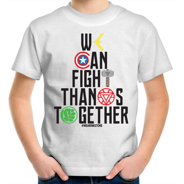 Fight Thanos Together - Kids Youth T-Shirt