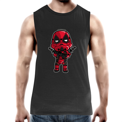 Dead Trooper - Adults Premium Tank Top Tee