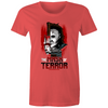 The Mask of Terror - Womens Premium Crew T-Shirt