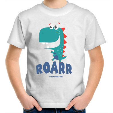Dino Roar - Kids Youth T-Shirt