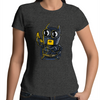 Bat Minion - Womens Premium Crew T-Shirt