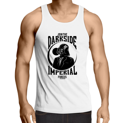 Darkside - Adults Premium Singlet Top