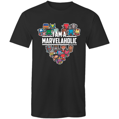 Marvelaholic - Adults Premium T-Shirt