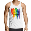 Love Wins - Adults Premium Singlet Top