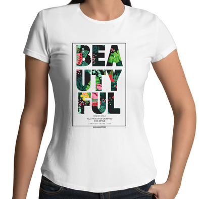 Beautyful - Womens Premium Crew T-Shirt