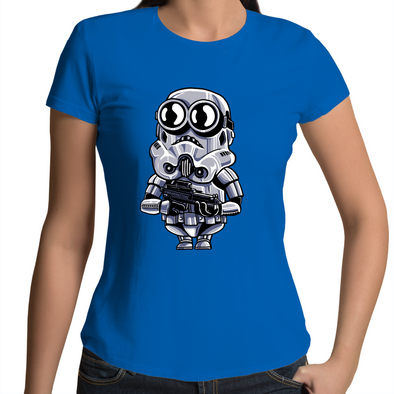 Minion Trooper - Womens Premium Crew T-Shirt