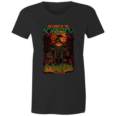 Curse of the Scarecrow - Womens Premium Crew T-Shirt