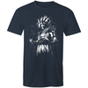 Goku in Pixels - Adults Premium T-Shirt