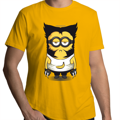 Minion-Wolverine - Adults Premium T-Shirt