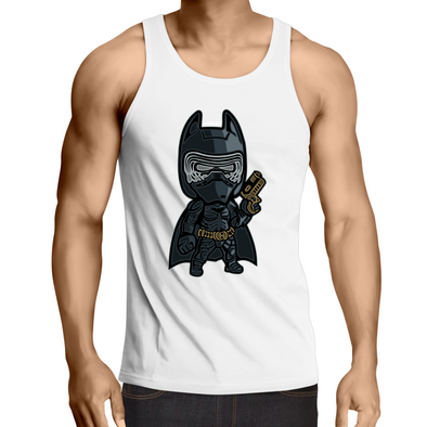 Darkest Knight - Adults Premium Singlet Top