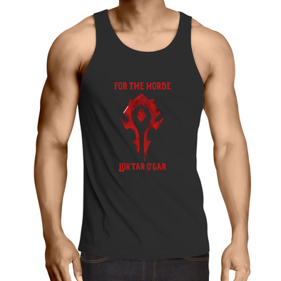 For the Horde - Adults Singlet Top