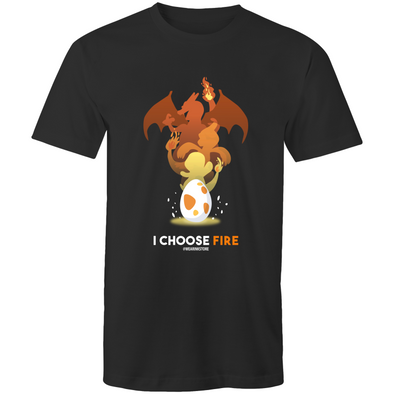 I Choose Fire - Adults Premium T-Shirt