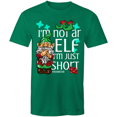 I'm not an Elf - Adults Premium T-Shirt