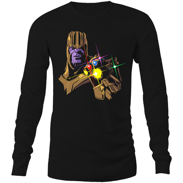 Infinity Stones - Adults Long Sleeve T-Shirt