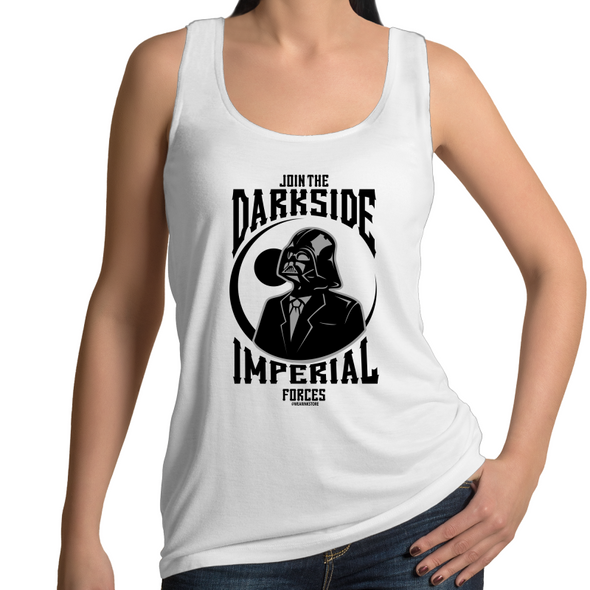 The Darkside - Womens Premium Singlet