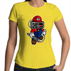 Player Head - Womens Premium Crew T-Shirt