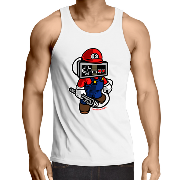 Player Head - Adults Premium Singlet Top