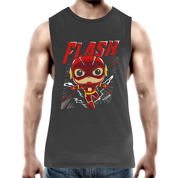 Flash - Mens Premium Tank Top Tee
