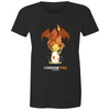 I Choose Fire - Womens Premium Crew T-Shirt