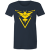 Yellow Instinct - Womens Crew T-Shirt