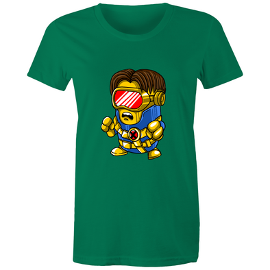 Cyclops Minion - Womens Crew T-Shirt