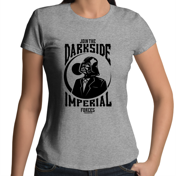 The Darkside - Womens Premium Crew T-Shirt