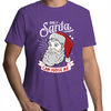 Only Santa can Judge Me - Adults Premium T-Shirt