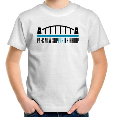 PAFC NSW Support Group - Youth Crew T-Shirt
