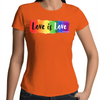 Love is Love - Womens Premium Crew T-Shirt