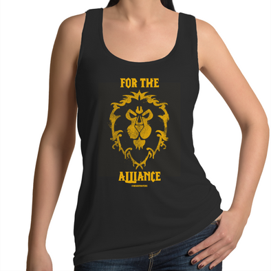 For the Alliance - Womens Singlet