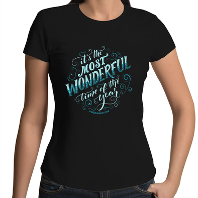 What a Wonderful Time - Womens Premium Crew T-Shirt