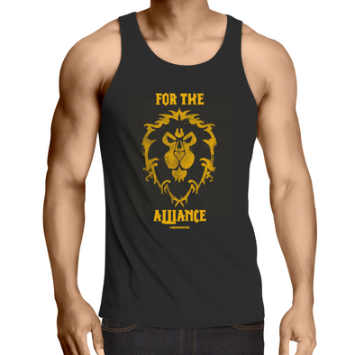 For the Alliance - Adults Singlet Top