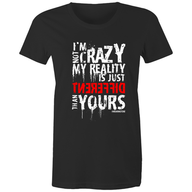 Crazy - Womens Premium Crew T-Shirt