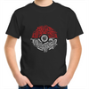 Electric Pokeball - Kids Youth Crew T-Shirt