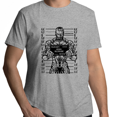 Iron Mugshot - Adults Premium T-Shirt