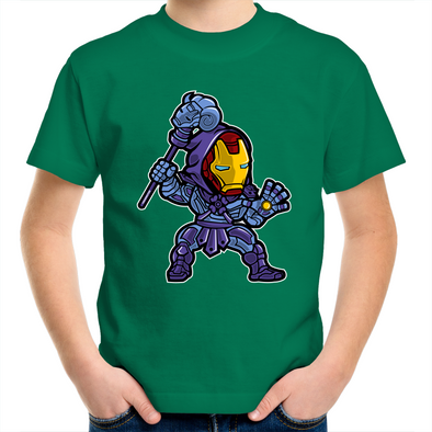 Iron Skeletor - Kids Youth T-Shirt