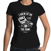 Grew up on the Game - Womens Premium Crew T-Shirt